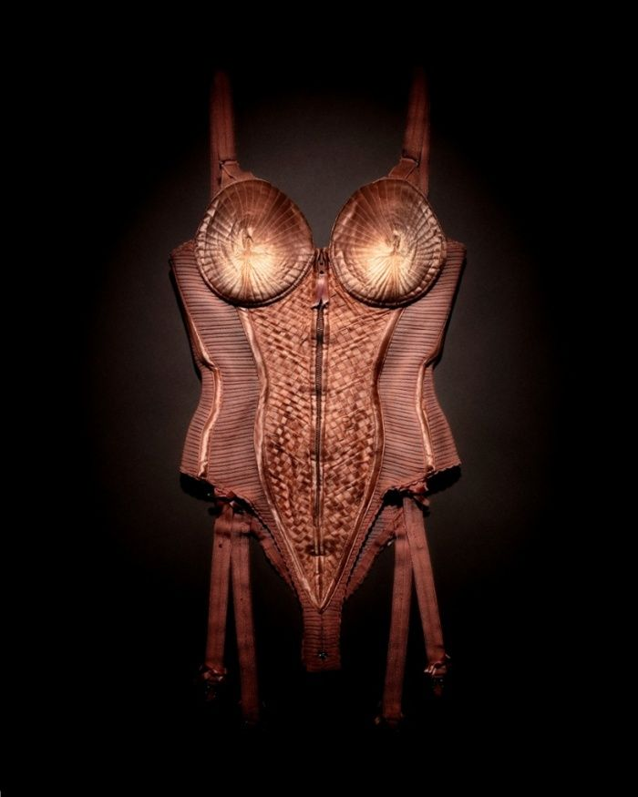The corset worn by Madonna on her Blond Ambition World Tour in 1990.