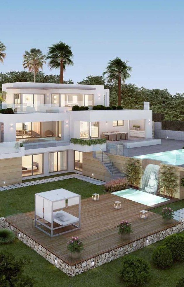 Discover These 12 Luxury Mansions That Will Inspire You Today For Your Future Home An Exc In 2020 Luxury Homes Dream Houses Dream House Exterior House Designs Exterior