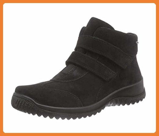 Legero Stiefelette Klettverschluss schwarz Goretex, Farbe:schwarz;Größe:38.5 - Stiefel für frauen (*Partner-Link)