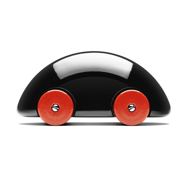 """#Designed in #1984 as part of the long collaboration between #UlfHanses and #playsam, this charming #streamliner #toy #car will delight young and old…"""