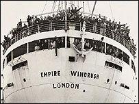 SS Empire Windrush, 1948