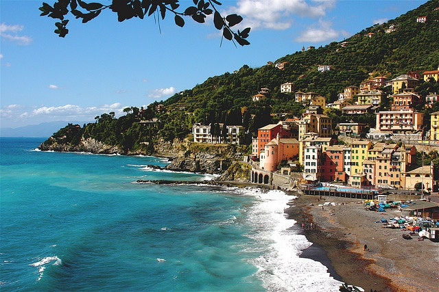 Sori, Italy.