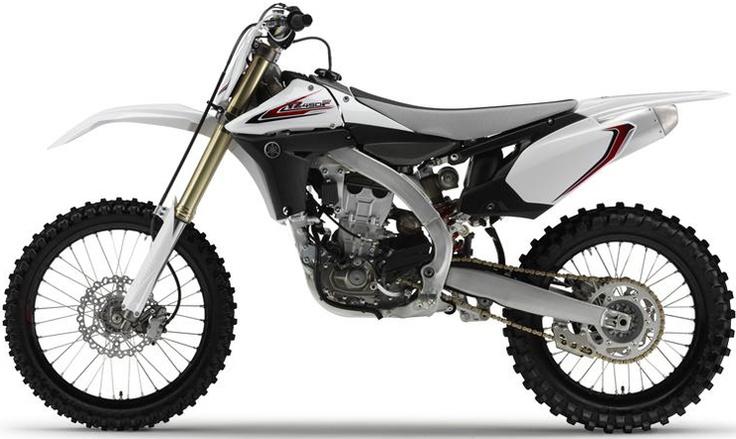 12 Yamaha YZ450f Special Edition