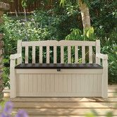 Found it at Wayfair - All Weather Outdoor 70 Gallon Resin Storage Bench