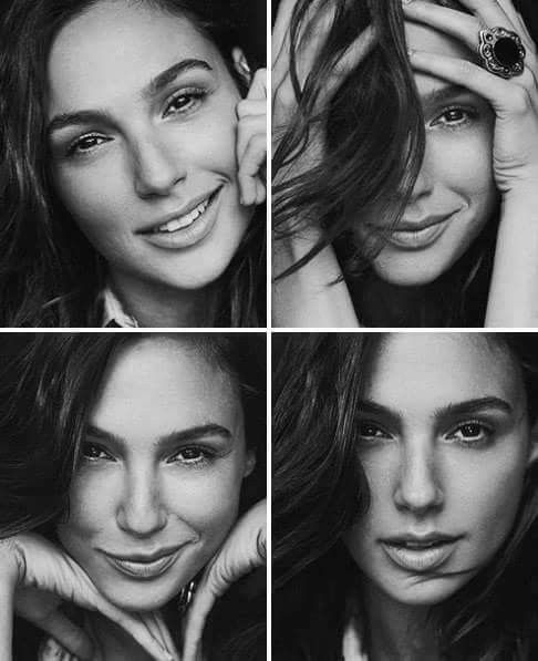 I have the BIGGEST girl crush on Gal Gadot. She is so smart and light and full of life.