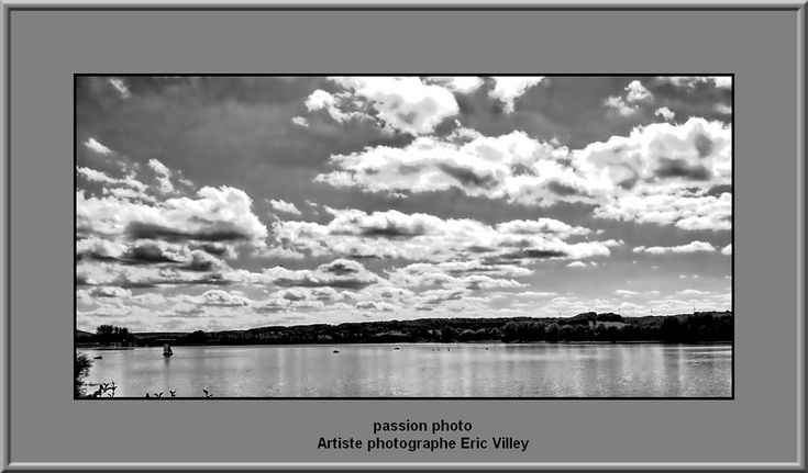 lac de la liez...B/W by Artiste photographe -ERIC VILLEY