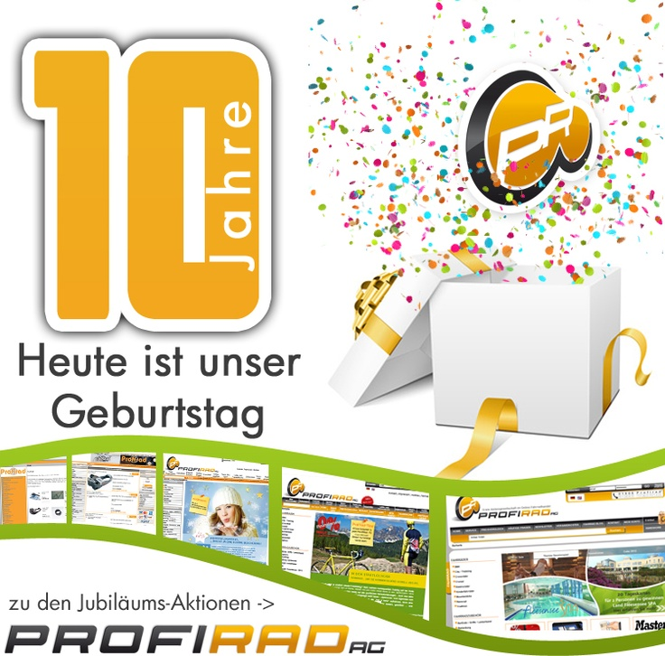 10 Jahre Profirad.de