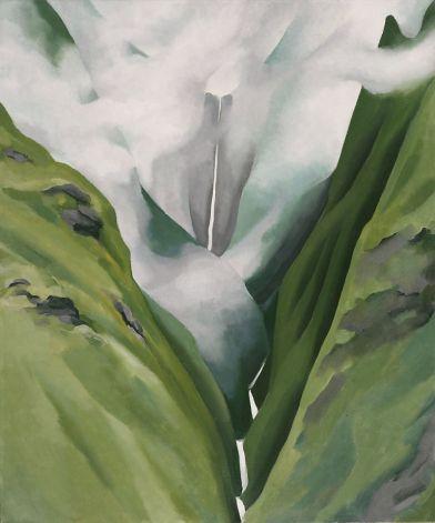Waterfall 1939 Artists Georgia O'Keeffe