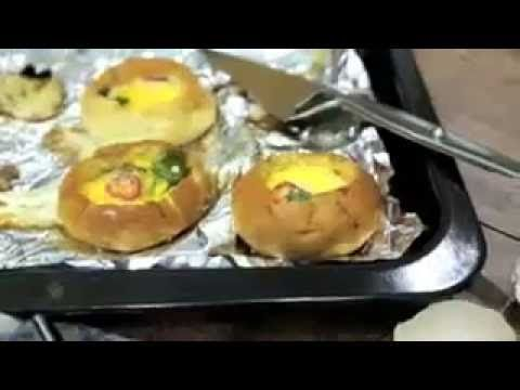 Quickly Bread Bowl Eggs Breakfast Recipe By Healthy Foods