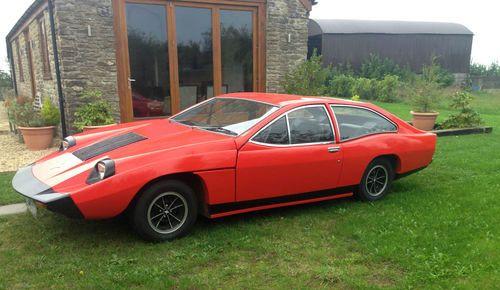 1970s Marcos Mantis M70 sports car