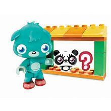 Moshi Monsters Mega Bloks Set #80635 Moshling Zoo and Poppet by Mega Brands. $3.99. Contains 1 Poppet and 2 Moshlings, one of which is a surprise!. Features Buildable Moshling Zoo that can be extended with other zoos. Create and customize the fantastic world of Moshi Monsters with the Mega Bloks Moshi Monsters  Moshling Zoo and Poppet (80635)! The Moshi Monsters Moshling Zoo by Mega Bloks is a 13 piece buildable playset based on the Moshi Monsters online game! House y...