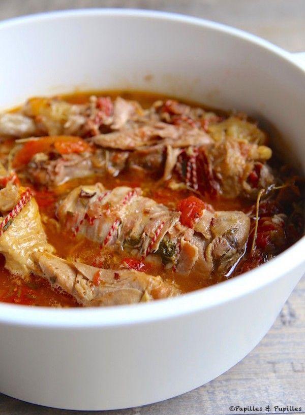 Les 25 meilleures id es de la cat gorie recette poulet entier sur pinterest recette de poulet - Cuisse de poulet au vin blanc ...