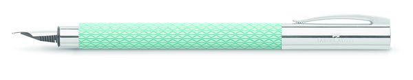 Faber Castell Ambition OpArt Aqua Medium Point Fountain Pen from Goldspot Pens!
