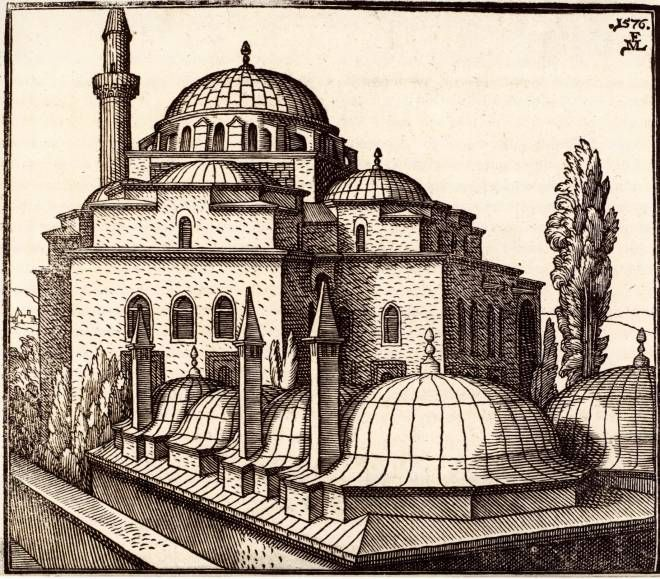 Ali Pasha Mosque, Constantinople by Melchior Lorck