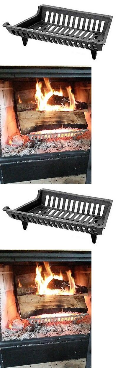 Andirons Grates and Firedogs 79648: Fireplace Grate Pleasant Hearth Fire Heat 18 Cast Iron Solid Wood Retainer Home -> BUY IT NOW ONLY: $47.54 on eBay!