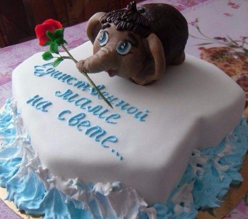 фото - идея. Торт Маме на День Рождения