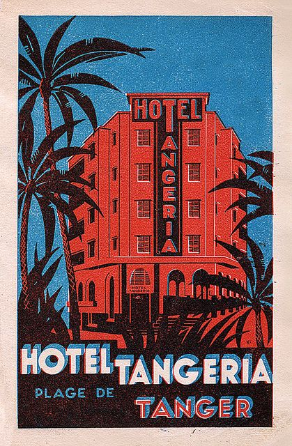by Art of the Luggage Label, via Flickr