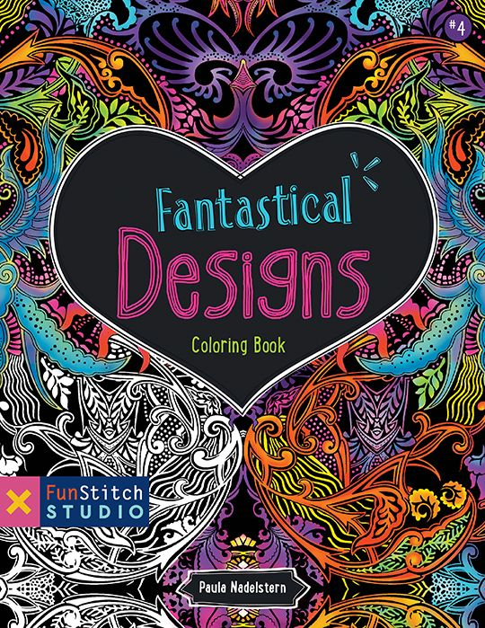 Fantastical Design Colouring Book