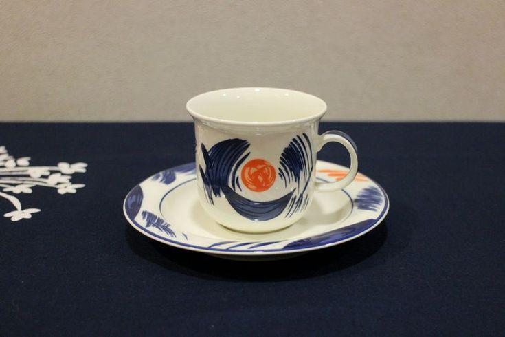 Arabia Arctica NOVA coffee cup and saucer, Dorrit von Fieandt via Four Seasons shop