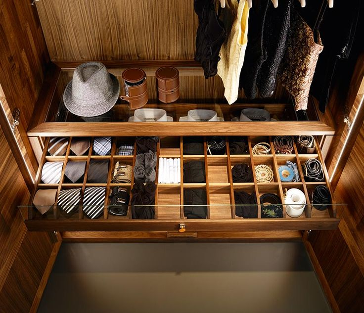 Luxury Wardrobe Tie Drawer Dressing Rooms Luxury
