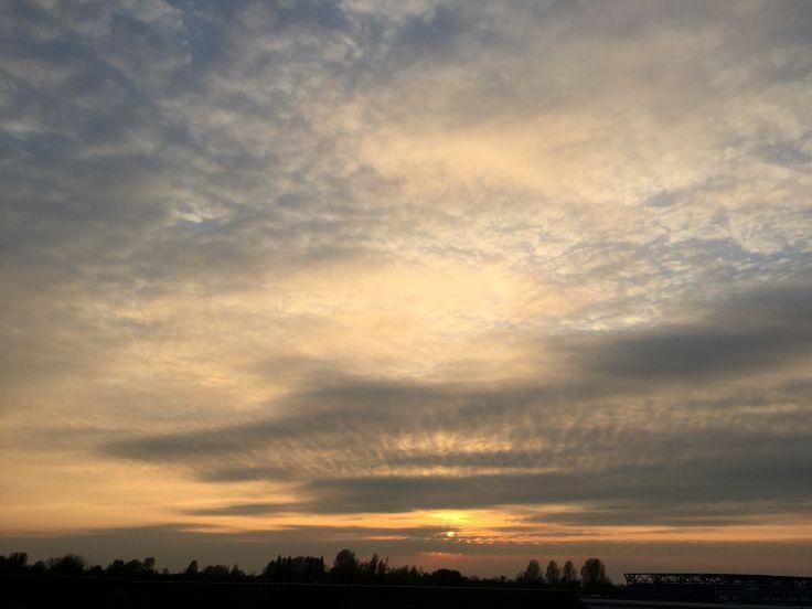 De zon gaat weer onder....