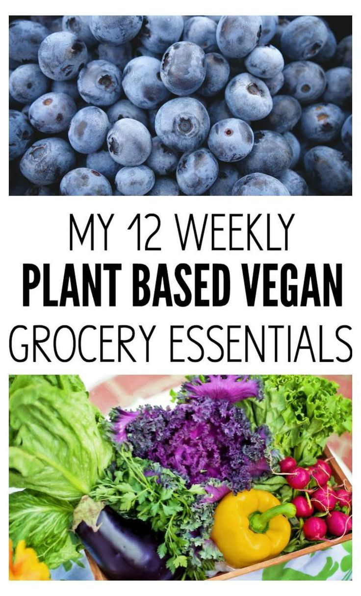 My 12 Weekly Grocery Essentials