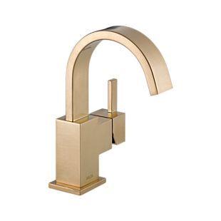Guest Bath | Delta Vero | Champagne Bronze