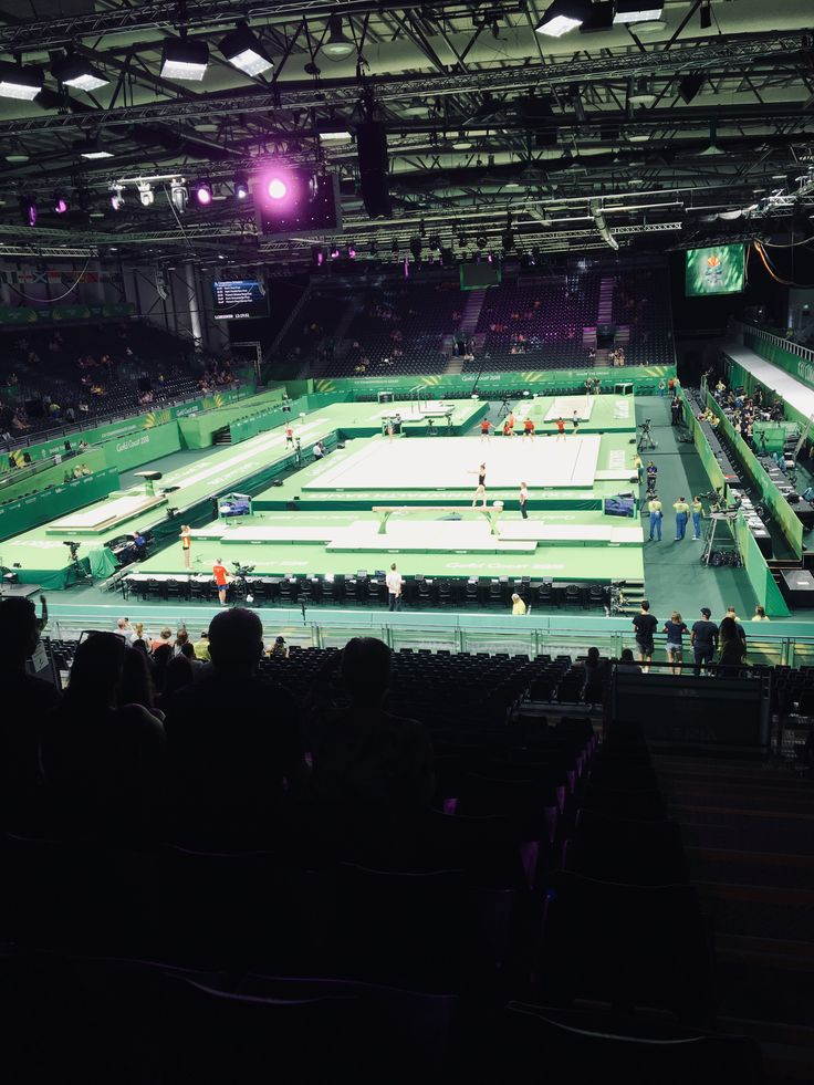 Gymnastics stadium