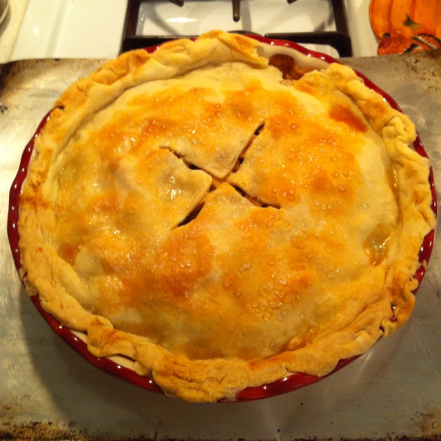 Deep Dish Apple Pie Recipe Dishmaps