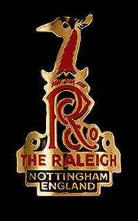 Raleigh headbadge - had a few Raleigh bikes but the best was the Team Replica with Campag Record gruppo