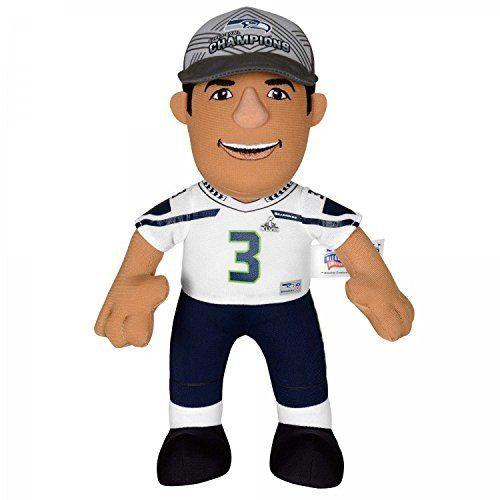 "NFL Seattle Seahawks Russell Wilson Plush Doll, Blue, 10 by Bleacher Creatures. NFL Seattle Seahawks Russell Wilson Plush Doll, Blue, 10. 10""."