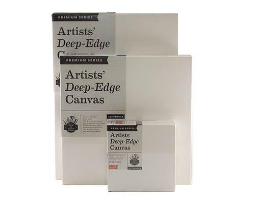 Above Ground Art Supplies - Above Ground Premium Series Artists' Deep-Edge Canvas -1.5 in. Deep - 48 x 60 in.