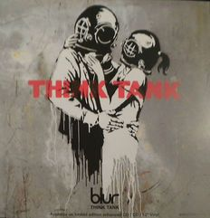 Banksy - Promotion of Blur Think tank album