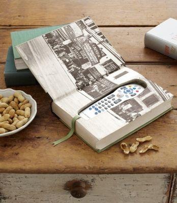 Book Box for Remote Control