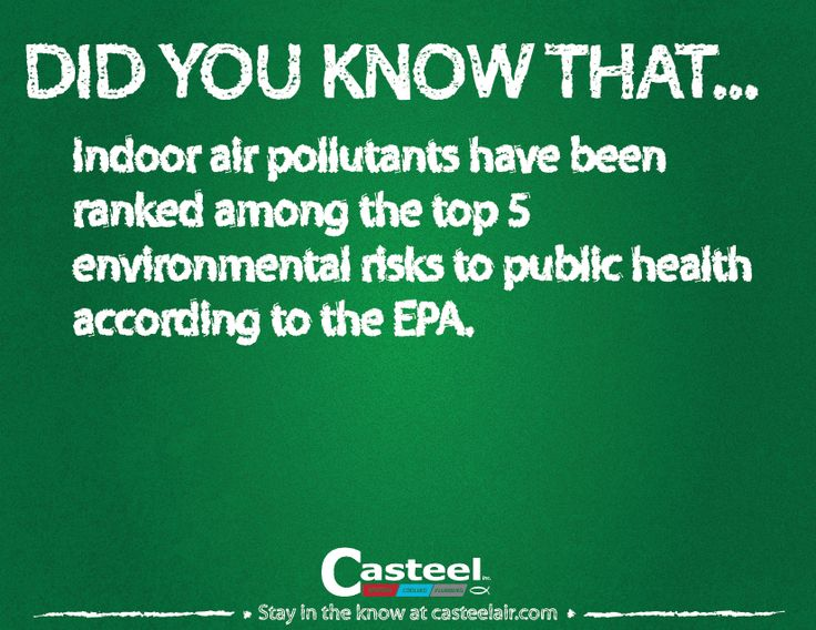 Ask your technician what you can do to improve your indoor air quality!
