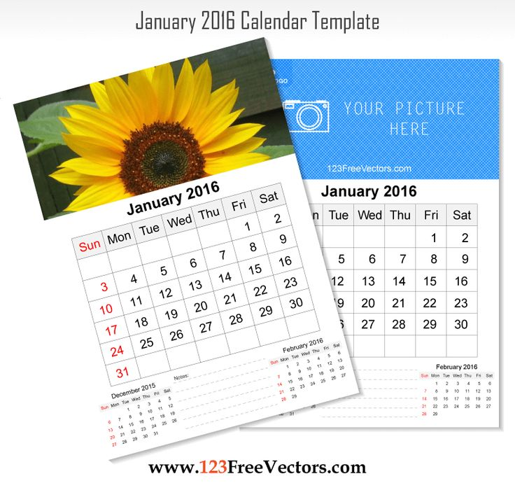 86 Best 2016 Calendar Template Images On Pinterest | Corporate