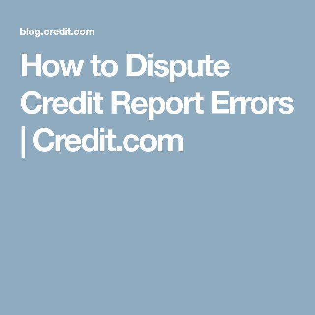 Best  Dispute Credit Report Ideas On   Credit Dispute