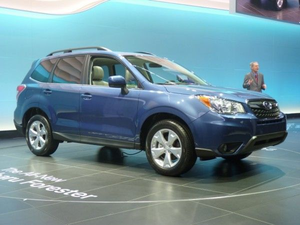 2014 Subaru Forester Show 600x450 2014 Subaru Forester Full Reviews