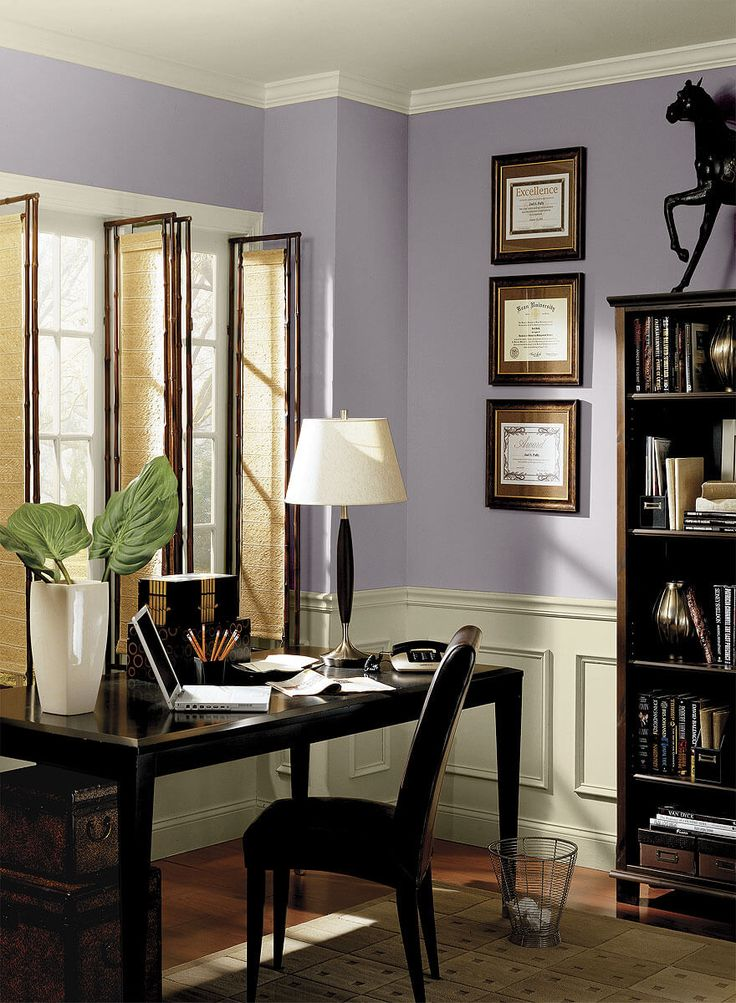 25 best ideas about purple office on pinterest purple. Black Bedroom Furniture Sets. Home Design Ideas