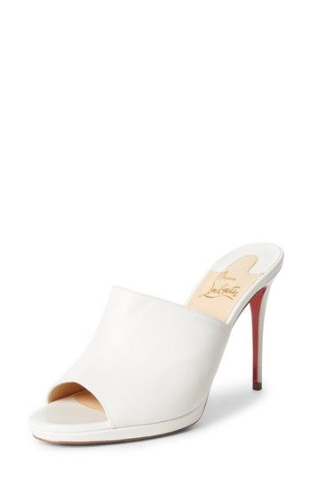 5c50662a65d CHRISTIAN LOUBOUTIN PIGAMULE SANDAL.  christianlouboutin  shoes ...