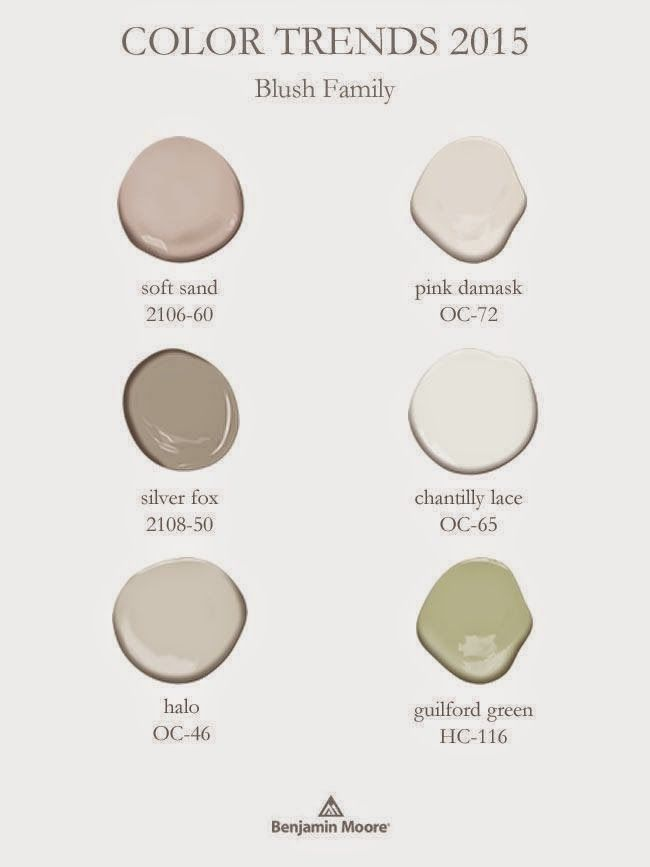 Evolution of Style: Benjamin Moore's 2015 Color of the Year (and Color Trends!)