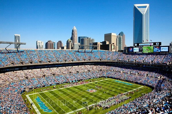 Carolina Panters  Bank of America Stadium