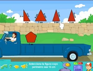 Juegos de Polígonos en Segundo y Tercer ciclo de Primaria, matemáticas #poligonos #matematicas #perimetro #juegos #Pipo #camión #educación