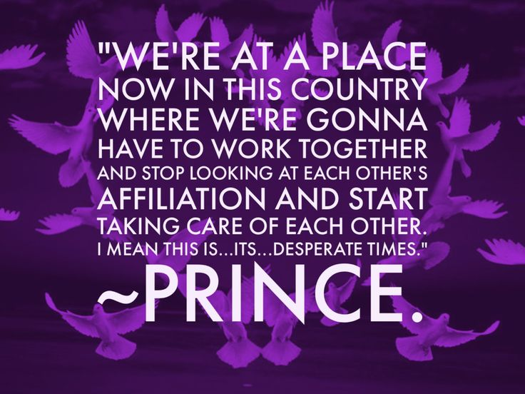 Prince, you spoke the Truth through your life and music. Why did you leave us?
