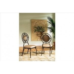 Powell Basil Antique Brown Dining Side Chair with 2-Piece in 1-Carton (Kitchen)  http://kohlerapronsink.com/amazonimage.php?p=B001IZ03TO  B001IZ03TO: Dining Room, Powell Basil, Dining Side, Basil Antique, Powellbasil, Brown Dining, Antique Brown, Side Chairs, Antiques