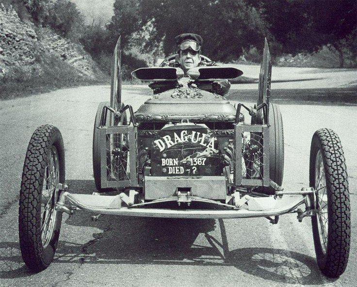 'Dragula' The Munsters' car.