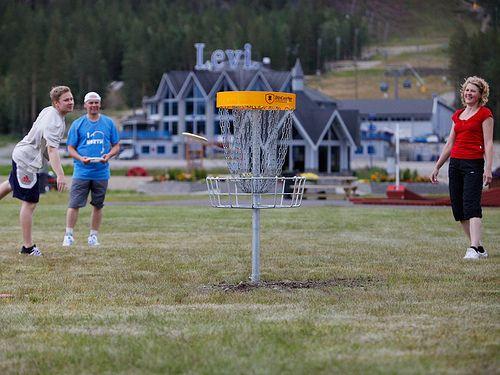 Disc Golf Park #Levi #Lapland #Finland