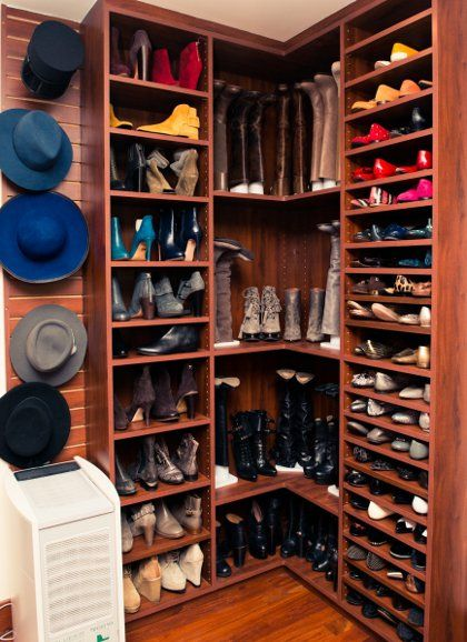 Jessica Alba's Closet. | セレブのクローゼット、寝室のクローゼット ...