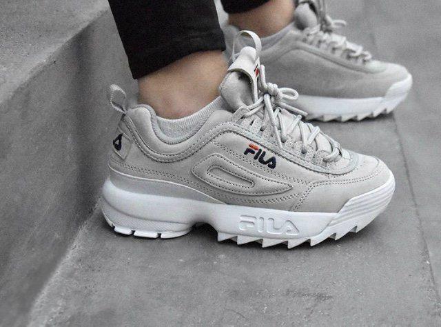 Fila Disruptor | FILA en 2019 | Chaussure sport, Chaussures ...