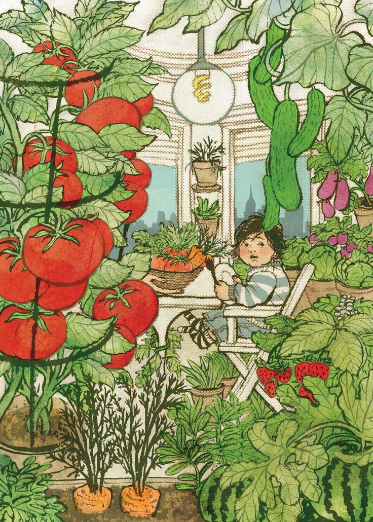 "Yuko Shimizu - ""Going Green"" for The Atlantic magazine"
